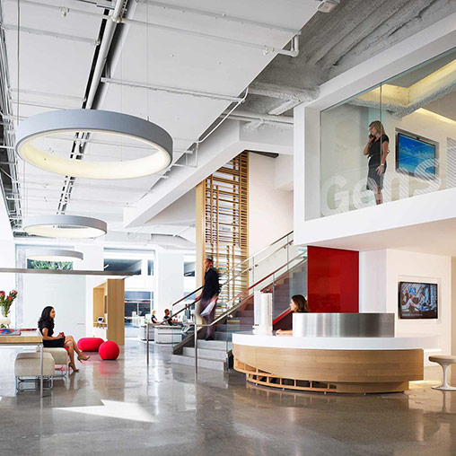 A Passion For Design Makes Gensler Newport Beach Top Workplace