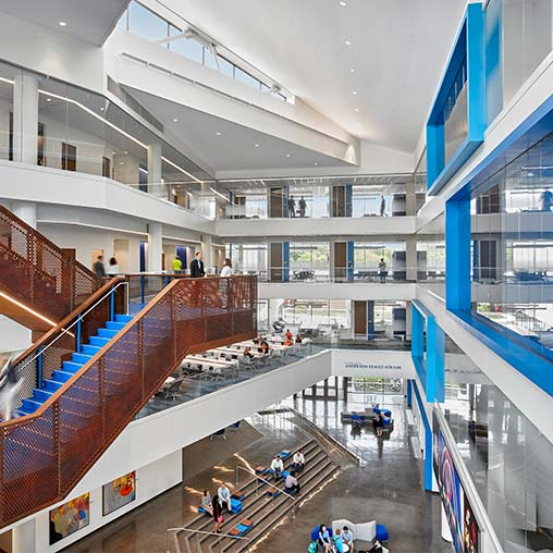 University of kansas capitol federal hall school of for Interior design years of college