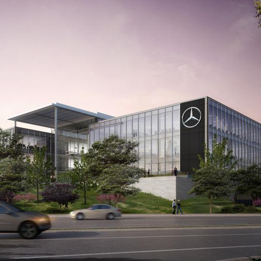 Mercedes-Benz USA Headquarters | Projects | Gensler