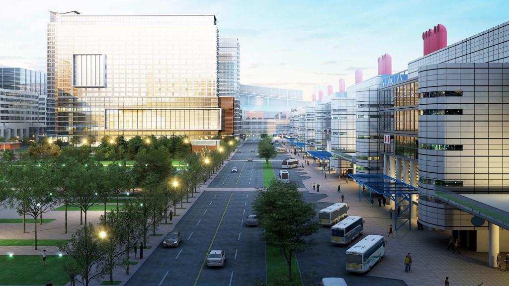 the george r brown convention center projects gensler. Black Bedroom Furniture Sets. Home Design Ideas