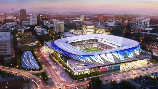 North Carolina Football Club Stadium Concept Design Projects Gensler