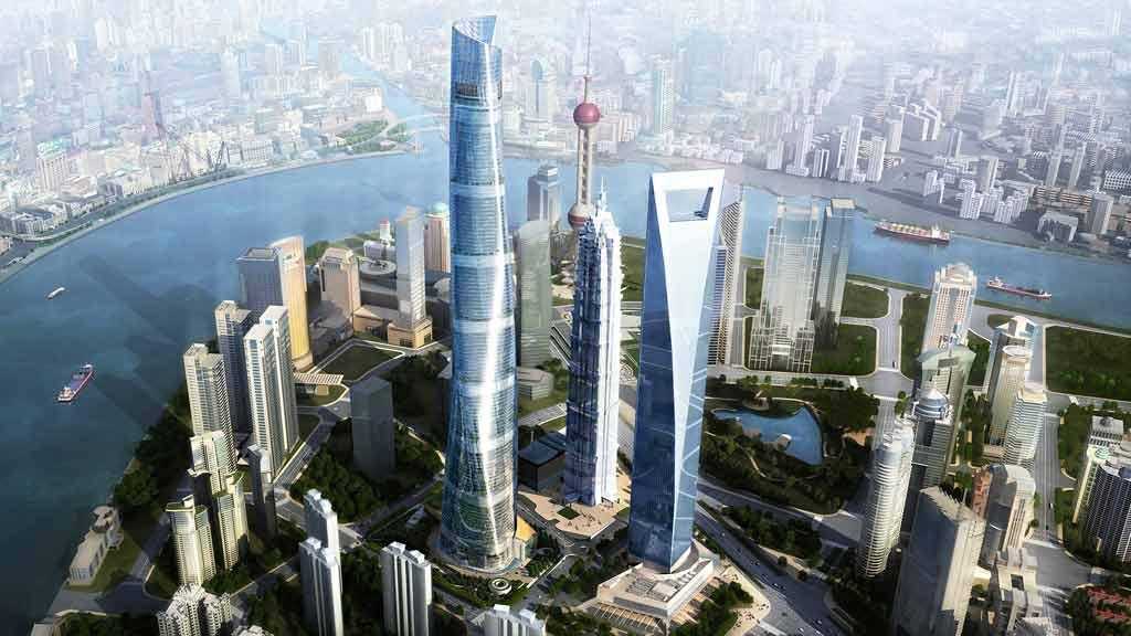 shangai tower - shangai, china -  gensler architects