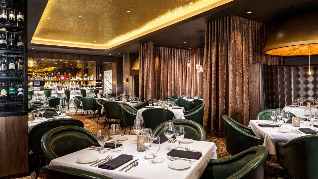 Andiamo Steakhouse At The D Casino Hotel Projects Gensler