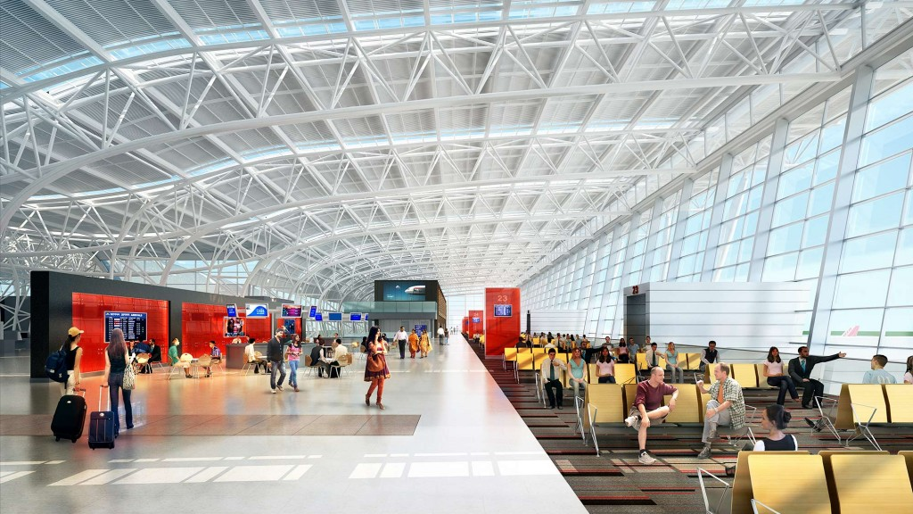 Kamraj Domestic Terminal At Chennai International Airport
