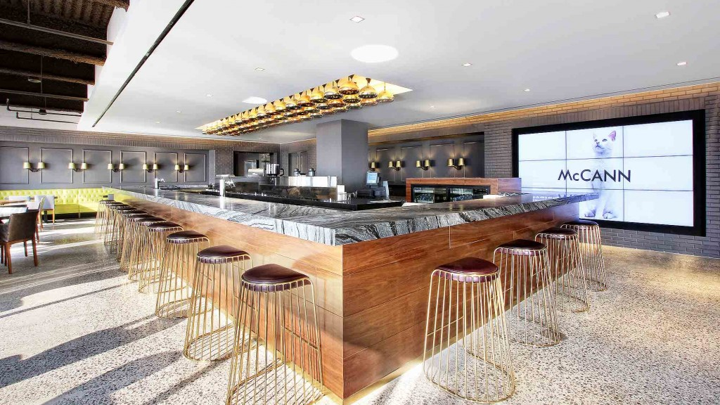 Gensler receives good design is good business award for for Interior design agency new york