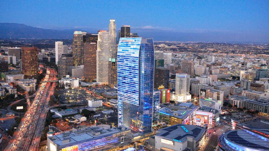 The Ritz Carlton Hotel Residences And Jw Marriott At L A Live Projects Gensler