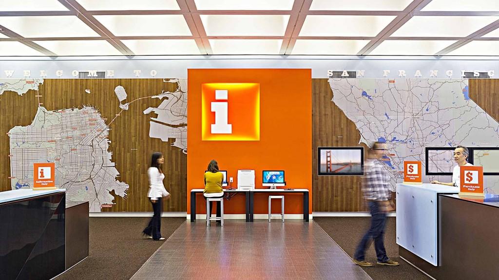 San francisco visitor information center brand design - San diego interior design center ...
