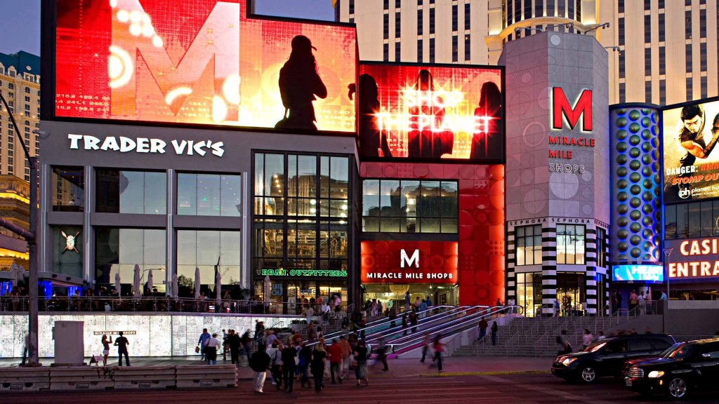 Miracle Mile Shops At Planet Hollywood Projects Gensler