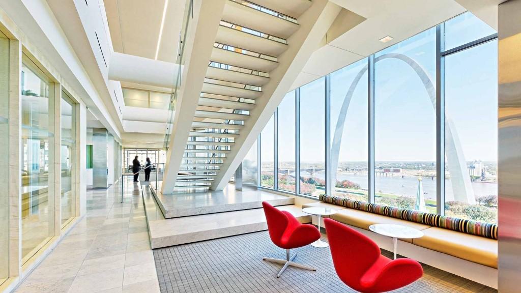 Polsinelli shughart st louis projects gensler for St louis interior design firms
