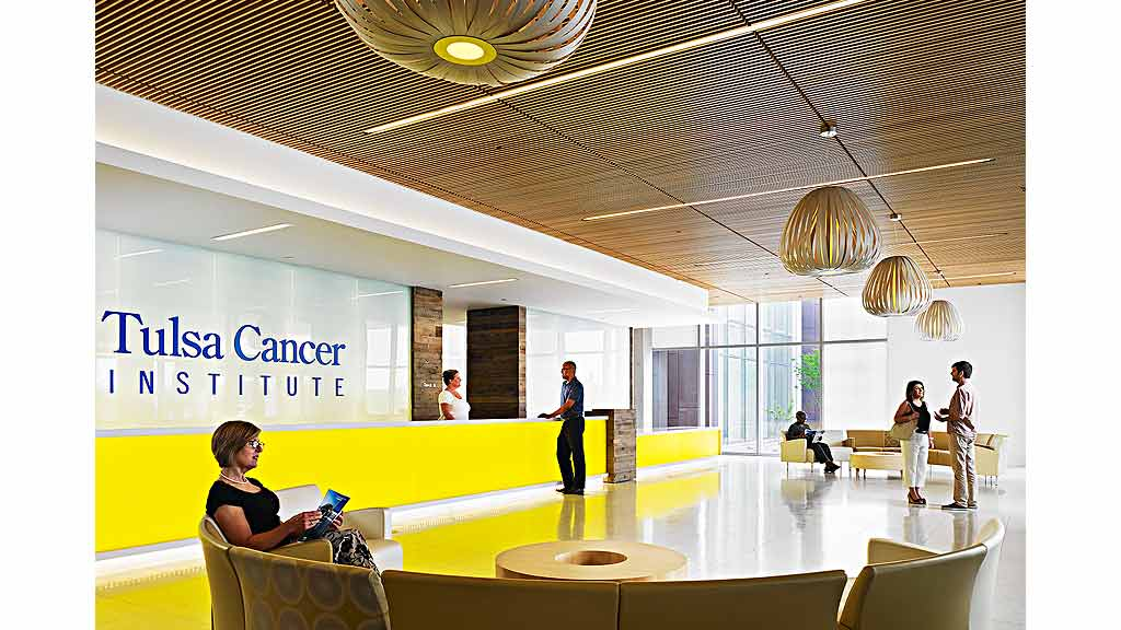 Incorporating Nature, Tulsa Cancer Institute Becomes A Healing Place