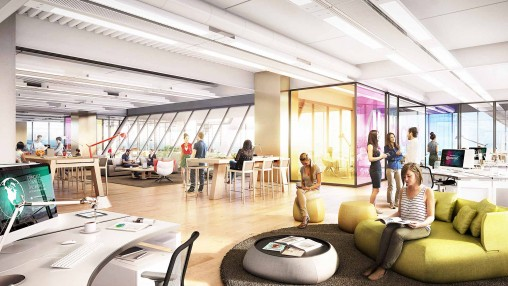 Gensler To Design Interiors Of The New Comcast Innovation And Technology  Center | Press Releases | News | Gensler