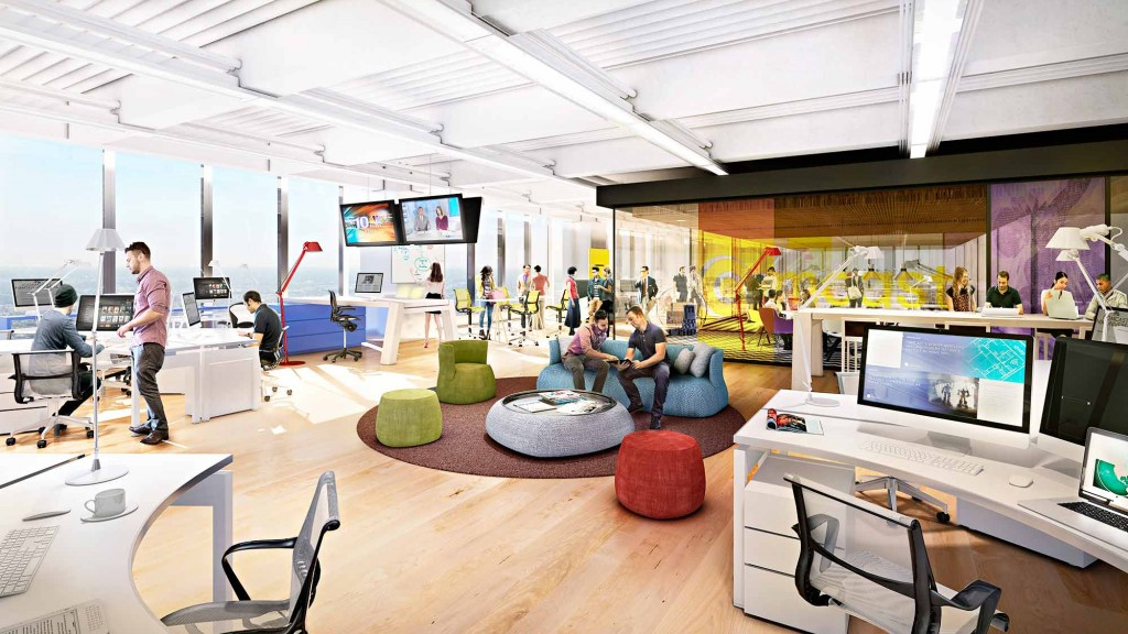 Gensler to design interiors of the new comcast innovation and technology center press releases Philadelphia interior design firms