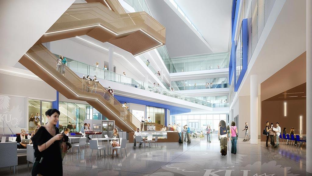 Amazing University Of Kansas Opens Newly Designed Business School Building | Press  Releases | News | Gensler