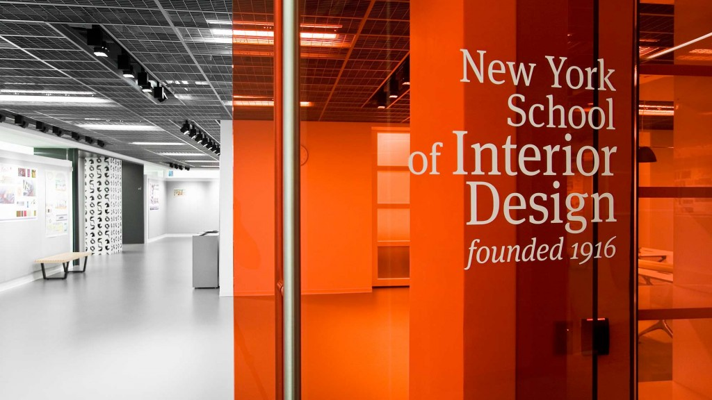 Interior Design Schools Ny Simple New York School Of Interior Design  Projects  Gensler 2017
