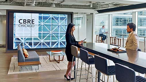 CBRE Chicago | Projects | Gensler