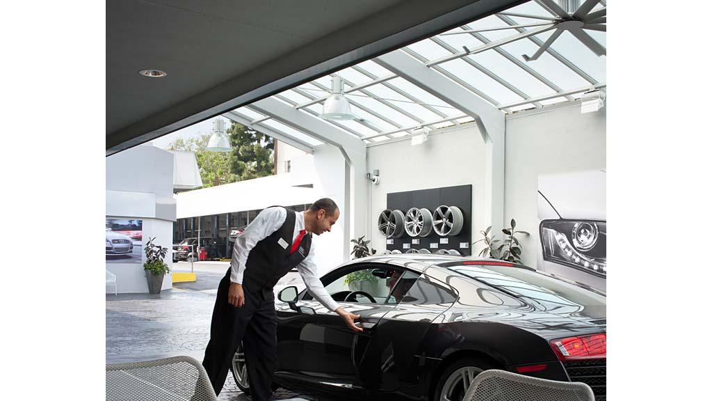 Fletcher Jones Audi of Beverly Hills | Projects | Gensler