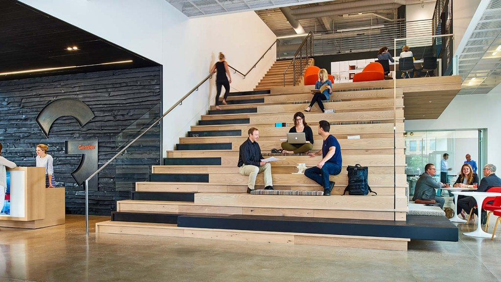 News denver offices gensler for Office design denver