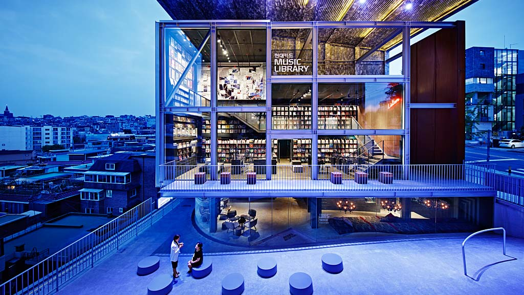 Hyundai Card Music Library Understage Wins 2015 IIDA Global Excellence Award