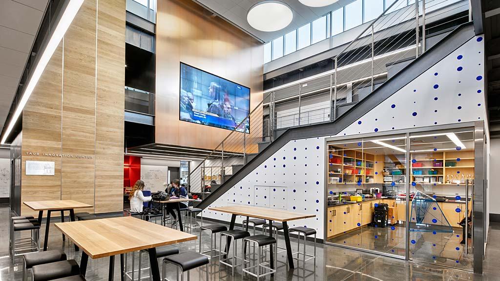 Dwight Englewood School Hajjar STEM Center | Projects | Gensler