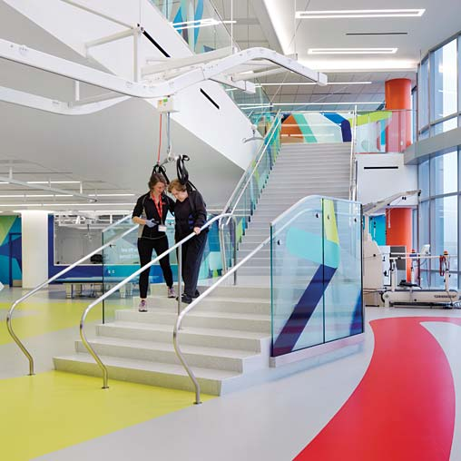 Interior Design Magazine Highlights The Shirley Ryan AbilityLab