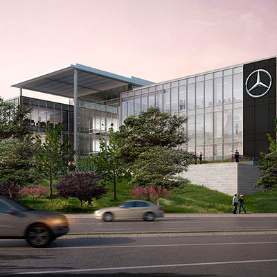 Atlanta offices gensler for Where is mercedes benz headquarters