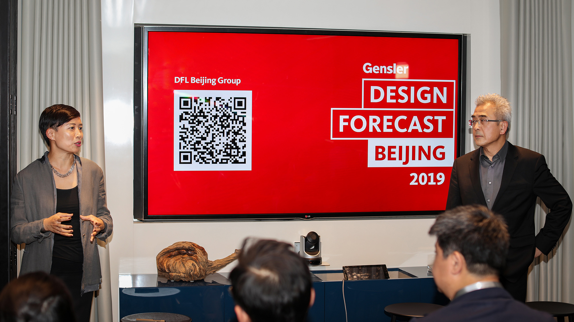 Gensler Beijing leaders deliver closing remarks