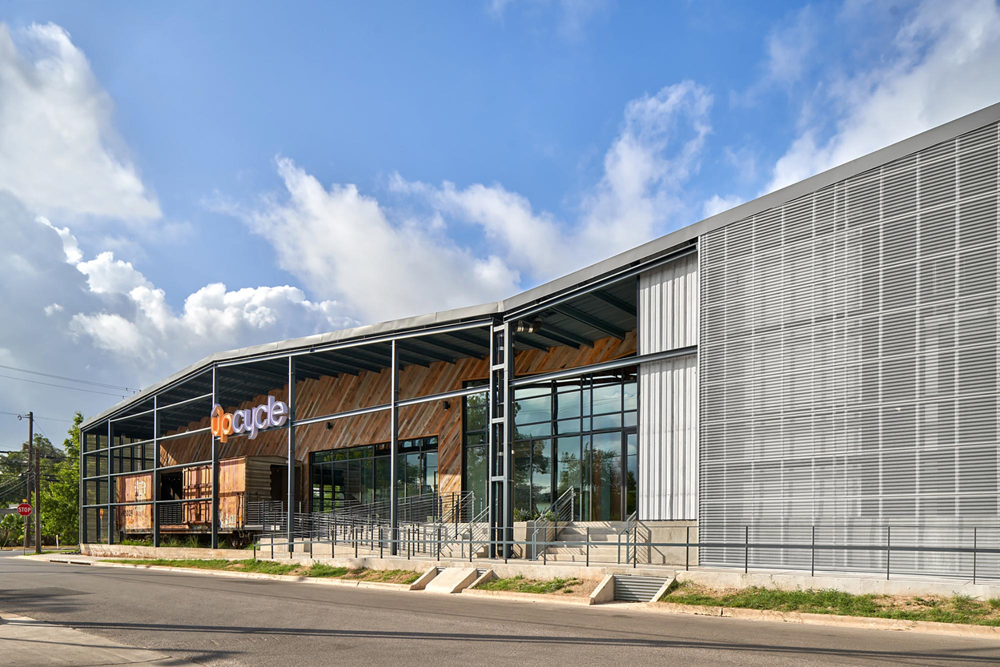 UPCycle: In the heart of Austin's East Side, Gensler converted an old warehouse into creative offices that create a vibrant connection with the neighborhood and add character.