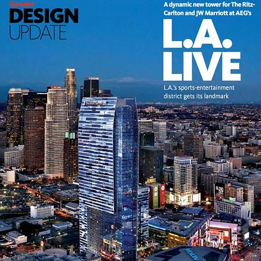 Design Update The Ritz Carlton And Jw Marriott At L A Live